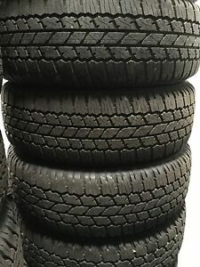Bridgestone Dueler AT693 265/65/17 NEW tyres SET Of 4 -Hilux PRADO Ranger Triton