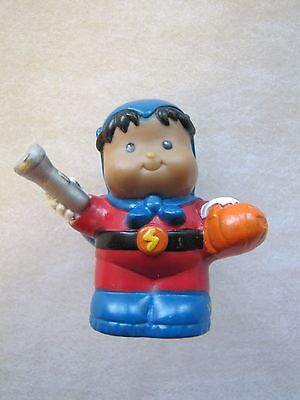 Fisher Price Little People ROBERTO SUPER HERO HALLOWEEN Hispanic AA BOY - Hispanic Halloween Costumes