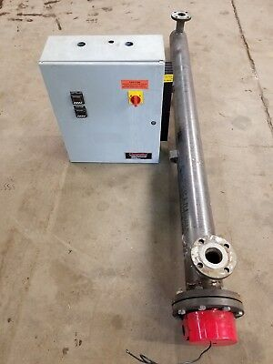 Chromalox 30 Kw Circulation Heater 480 V 3 Phase W Control Panel