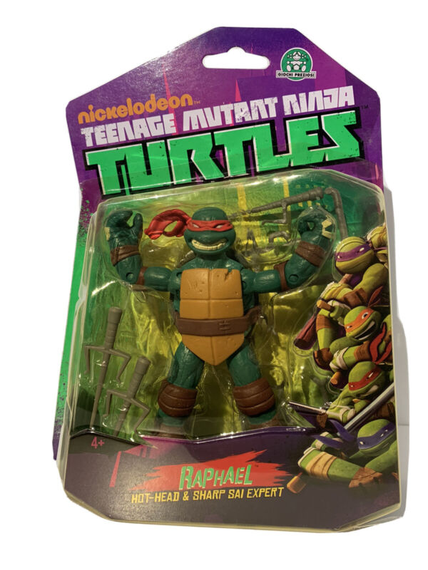 Teenage Mutant Ninja Turtles Nickelodeon Raphael Action Figure 5 Inch, Damaged
