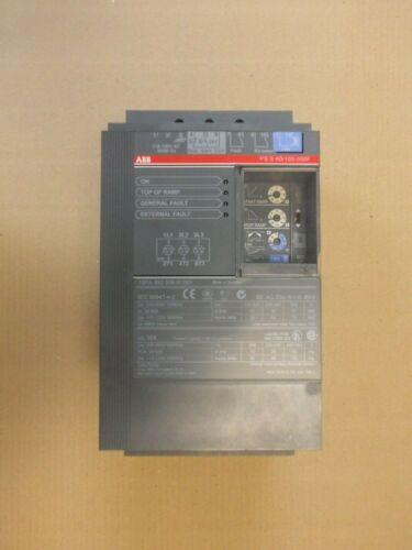 ABB PSS60/105-500F soft starter 110 - 120V