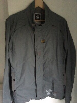 G Star Mens Jacket /overshirt Military Style Large , used for sale  Shipping to Ireland