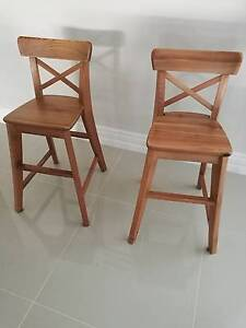 Ikea Ingolf Junior Dining Chairs Edgewater Joondalup Area Preview