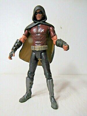 "Mattel DC Universe Batman Arkham City Legacy Robin 6"" figure"
