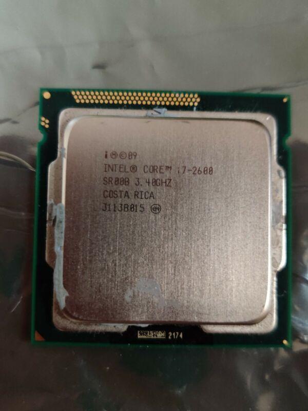 Intel Core i7-2600 (SR00B) 3.4GHz LGA1155 Desktop CPU Processor