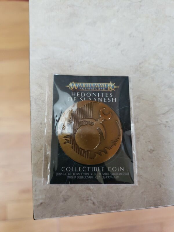 Hedonites Of Slaanesh Coin - Limited Edition