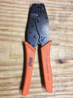 102a Crimping Tool For Heat Shrink Connectors - Ratcheting Wire Crimper - Lucent