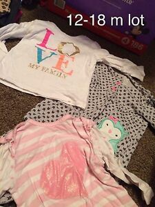 12-18 month girls clothes lot