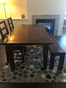 Urban barn  solid wood dining set