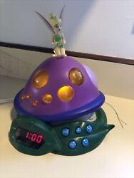 Disney Fairies Tinker Bell & The Lost Treasure Alarm Clock Radio Night Light