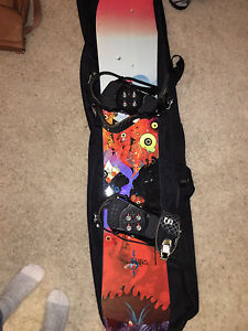Lamar storm snowboard & Salomon bindings and boots-used once