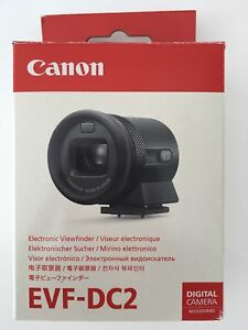 Canon EVF-DC2 for Canon M3 M6 PowerShot G3 X G1 X Mark II