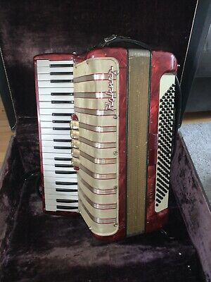 HOHNER Piano Accordion With Case - 120 Bass