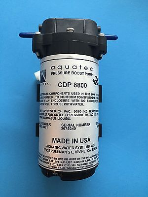 AQUATEC 8841 SERIES RO BOOSTER PUMP 24VAC -