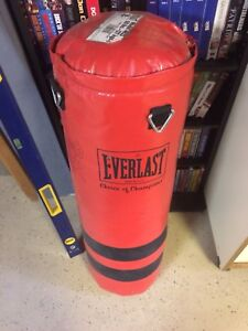 Punching bag and accessory's