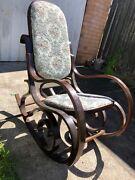 Bentwood rocker chair Watsonia Banyule Area Preview