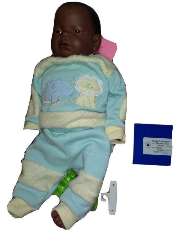 RealCare Baby Think It Over Doll G4 AFRICAN AMERICAN FEMALE (m42d)