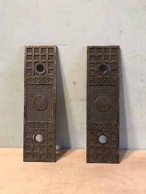 Vintage Elevator Button Face Plate Covers Architectural Salvage Design