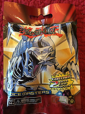 NEW & SEALED Yu Gi Oh Dice Masters Blind Bag w Cards Toy