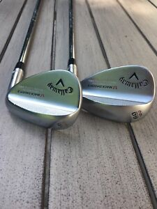 Callaway Mack Daddy 56 and 60 wedges