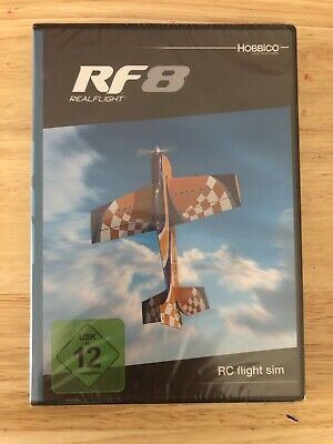 Great Planes RealFlight RF 8 Flight Simulator Software Only