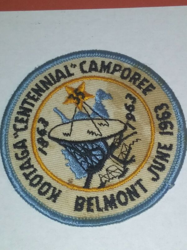 1963 Kootaga Centennial Camporee Belmont June 1963 Patch