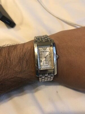 armani watch mens used