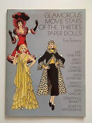 Glamorous Movie Stars Of Thirties Paper Doll Dress Up Book (Movie Stars Dress Up)