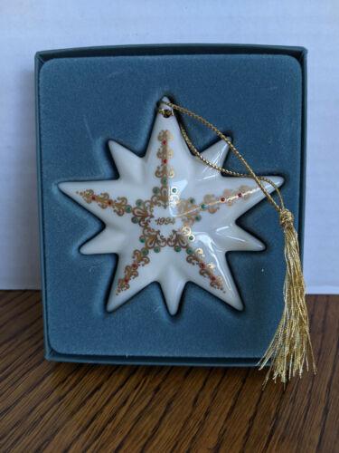 1994 Lenox Annual Christmas Star Ornament