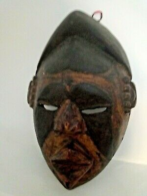 Antique Mask African Of Years 60