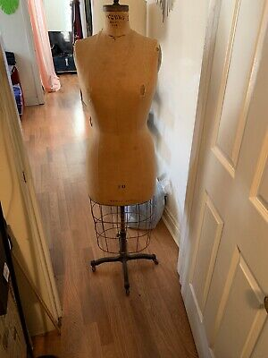 Vintage 1949 1940s 40s Dress Form Size 20 Women Mannequin