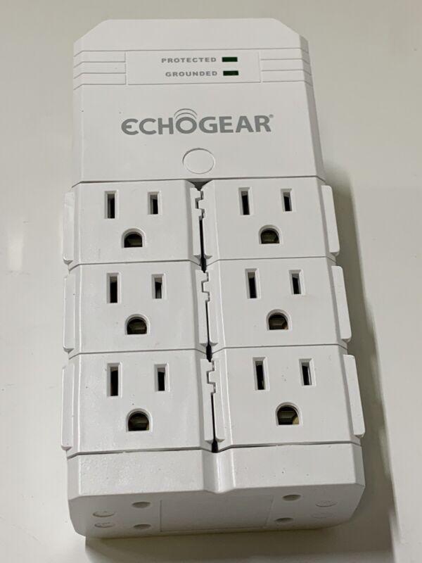 Echogear 6 Outlet Pivot Plug Surge Protector