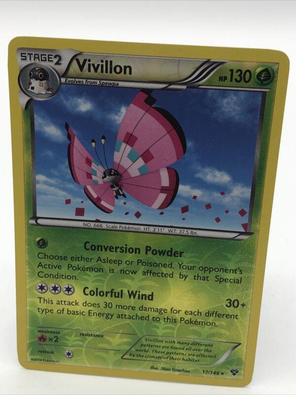 VIVILLON 15//162 SET TURBOBLITZ XY RARA HOLO CARTA POKEMON ITALIANA NEAR MINT