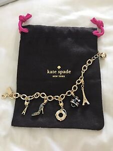 Kate spade hand chain with five charms North Melbourne Melbourne City Preview