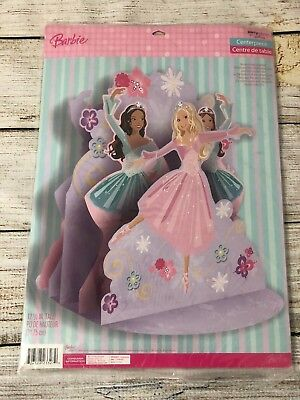 Ballet Decorations Party (Barbie Birthday Party Dancing Cake Topper New Ballet 12