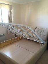 Queen bed      frame with mattress and bedside table Sunnybank Hills Brisbane South West Preview