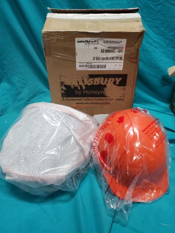Honeywell Salisbury As1000hat-Spl Hard Hat,Includes Face Shield,2 Lb. Wt.