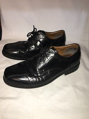 Clarks Mens Beeston Stride Oxford Black Leather Lace Up 8 5 W