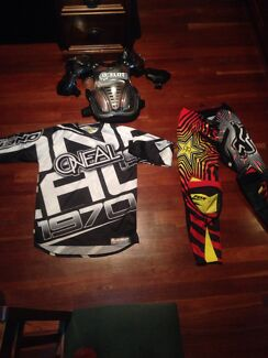 Motorbike pants and jersey and body armour  Eltham Nillumbik Area Preview