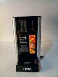 iHome iP39 Kitchen Timer and Alarm Clock Radio Speaker System Silver