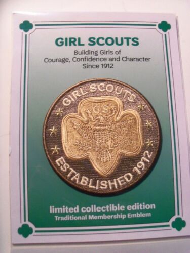 Girl Scout Patch - Traditional Membership Emblem Limited Collectible Edition