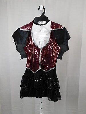 InCharacter Girl's Vampire Halloween Dress-Up Costume Dress Child Large #7519