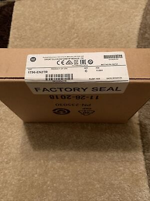 Allen-bradley 1756-en2tr Ser C 2019 New In Sealed Box