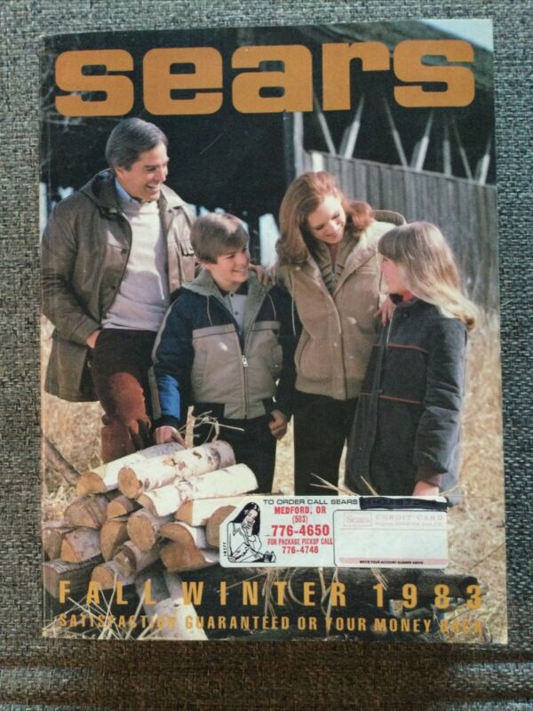 SEARS 1983 Fall Winter Catalog Clean Never Read Mint Condition 1980s Fashion