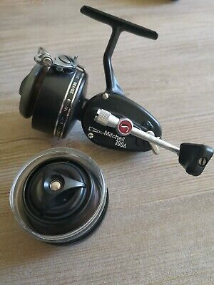 Vintage Mitchell Garcia 300A Fishing Reel With Alloy Spool And Spare Very Tidy