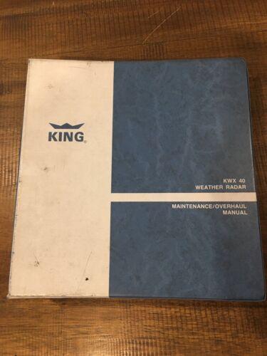 King KWX 40 Weather Radar Maintenance / Overhaul Manual