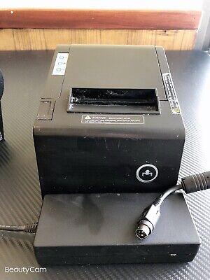 Pbm Pos P-822d 3 18 Thermal Receipt Lan Port Only Printer W Power Supply