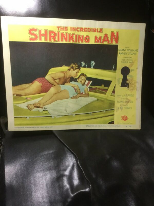 The Incredible Shrinking Man Lobby Card Original. Rare. Science Fiction Classic
