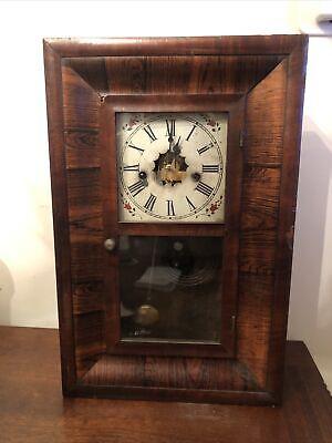 Antique Waterbury Ogee mantle Clock