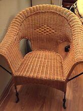 Wicker rattan chair Lane Cove North Lane Cove Area Preview